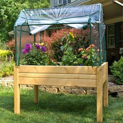 Eden Raised Mini Greenhouse