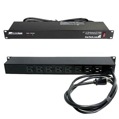 8 Outlet 15a Rackmount Power