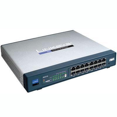 Cable/dsl Vpn Router W/16-pt
