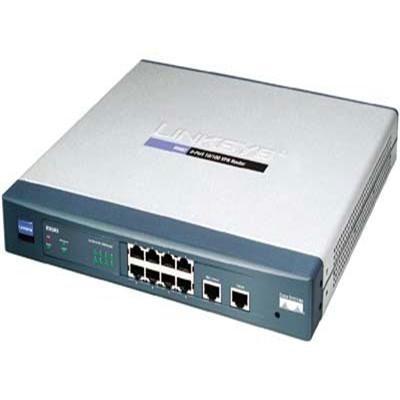 Cable/dsl Vpn Router W/8-pt Sw