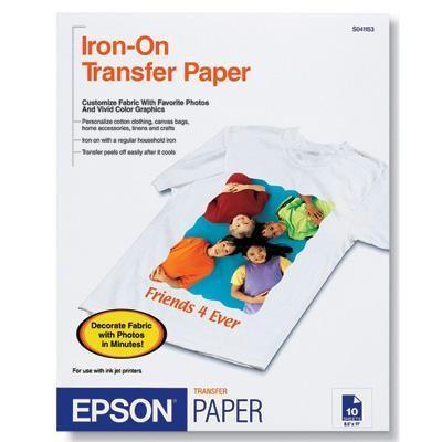 Iron-on Cool Peel Ltr Sz