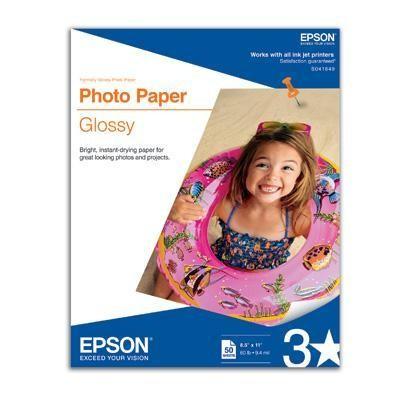 Paper Photo Glossy 8.5x11 50sh