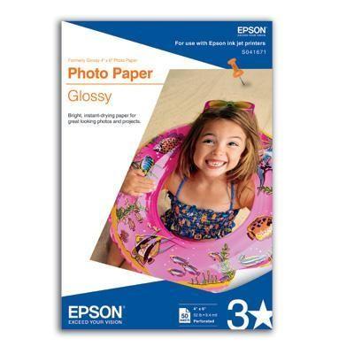 "Paper Photo 4""x6"" 50 Sheet"