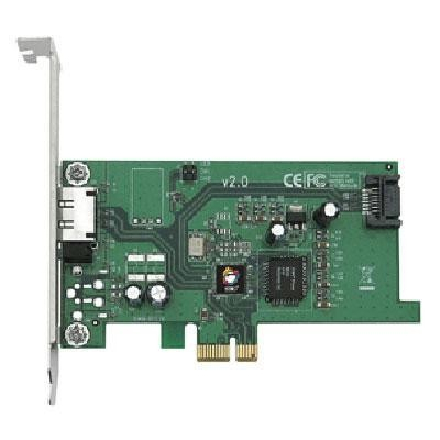 2-port (1 Int., 1ext.) Pci Exp