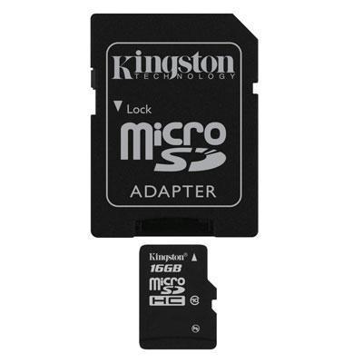 16GB microSDHC Class 10 Flash