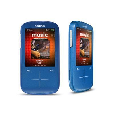 Fuze Plus 8GB MP3 Player Blue