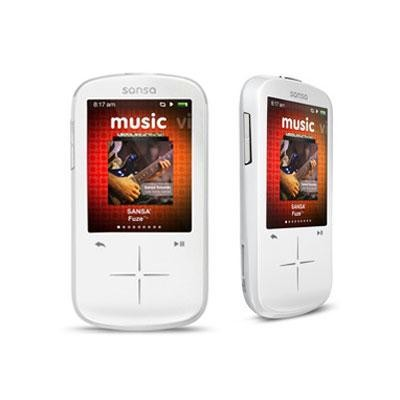 Fuze Plus 8gb Mp3 Player White