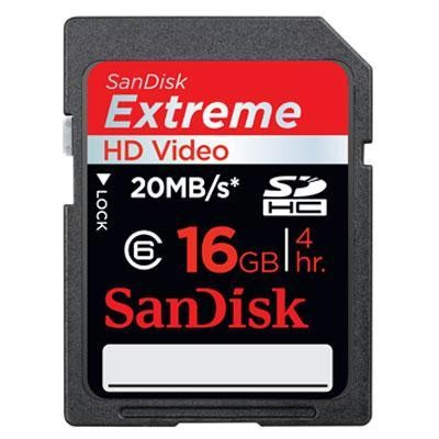 16gb Extreme Hd Video Sd Card