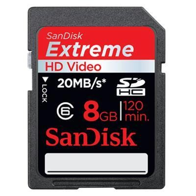 8gb Extreme Hd Video Sd Card