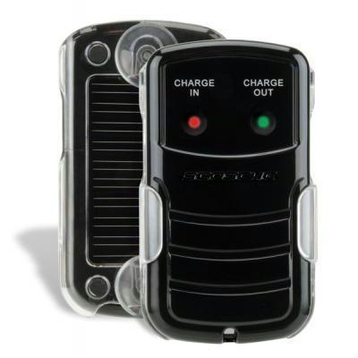 Solar Pwrd B/u Battery & Chrgr