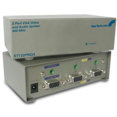 2 Port 400 Mhz Vga Splitter