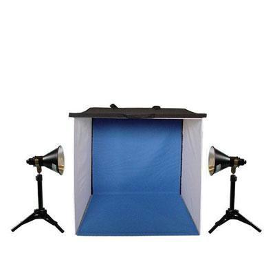24 In Photo Tent 2x 100w 5500k