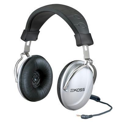 Stereo Headphone-silver