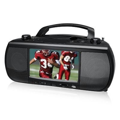 "7"" DVD Player with TV Tuner"