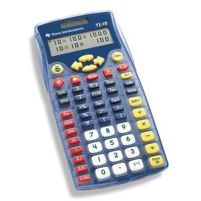 Ti-15 School Calculator