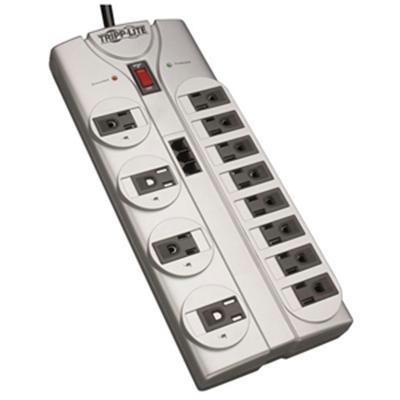 12 Outlets, Tel/dsl, 8ft Cord,