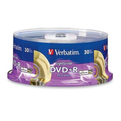 Dvd+r 30pk Lightscribe