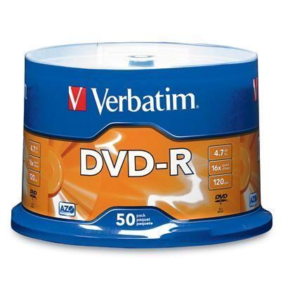 DVD-R 4.7GB 16X 50 Pack