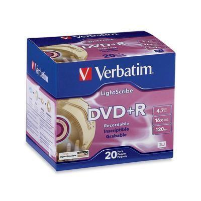 Dvd+r 20pk Lightscribe