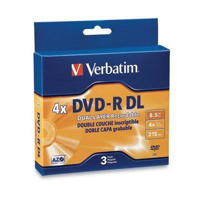 Dvd-r Dl 8.5 Gb 2x-4x 3pk