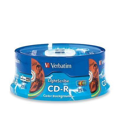 CD-R 80MIN 700M 52X Color 25pk