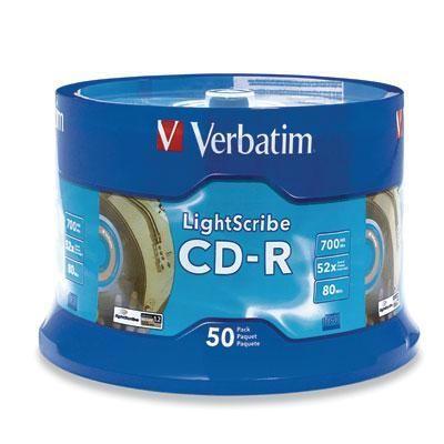 Cd-r 80min 700mb 52x Lightscri