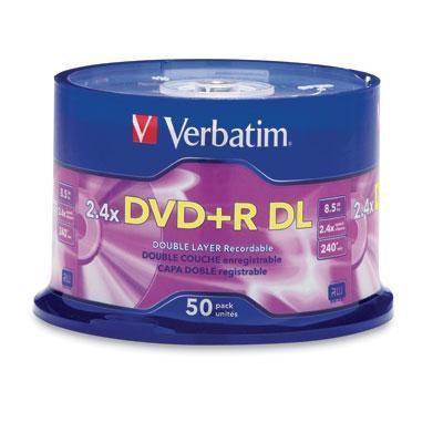Dvd+r Dl 8.5gb 2.4x Branded 50