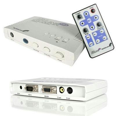 Vga To Tv Converter W Remote