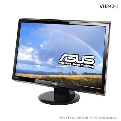 "24\"" 1080p LCD Panel Black"