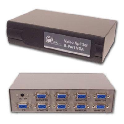 Video Splitter 8-port Vga Rohs