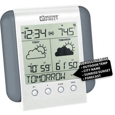 Wd 2 Day Forecast Gray/silver