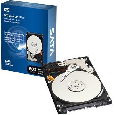 """500gb 2.5"""" Sata -retail Kit"""