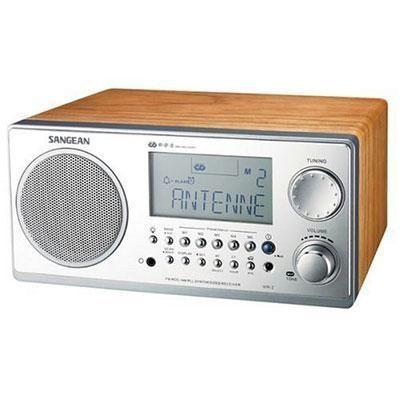 Analog Cabinet Tabletop Radio
