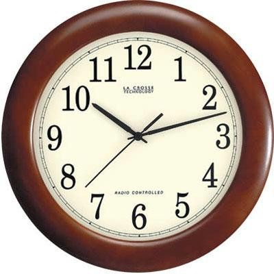 "Lc 12.5"" Atomic Analog Clock"