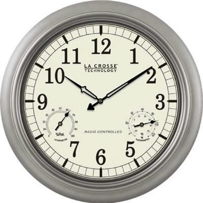 "Lc 18"" Atomic Outdoor Clock"