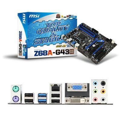 MSI Intel Z68A X16x4 4DDR3