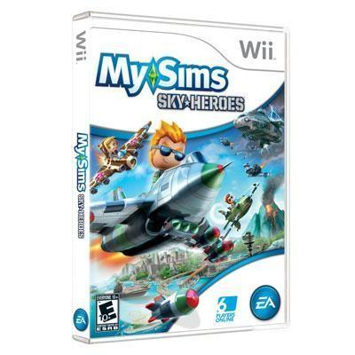 My Sims Sky Heroes Wii