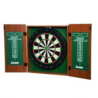 Bristle Dartboard W Cabinet