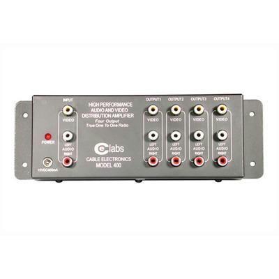 4 Output Rca Aud Vid Amplifier