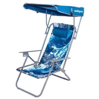 K Beach Canopy Chair Blue Wave