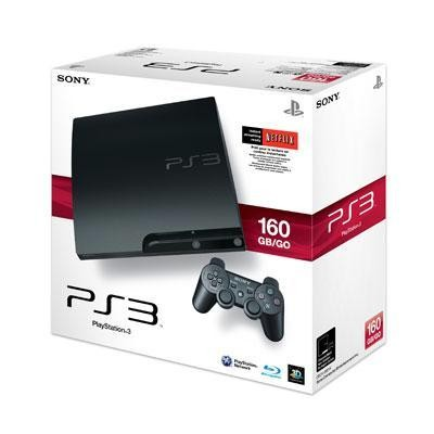 PS3 Hardware 160GB Core