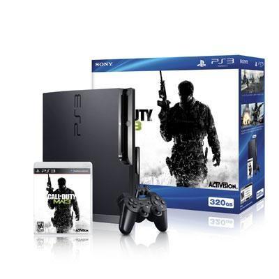 PS3 320GB COD Modern Warfare