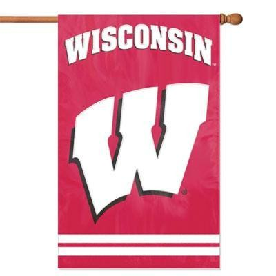Wisconsin Applique Banner Flag