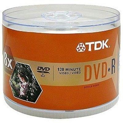 Dvd+r In 50 Pack Spindle