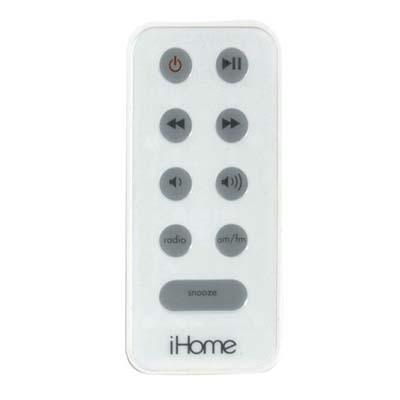 Remote Control For Ihome- Silv