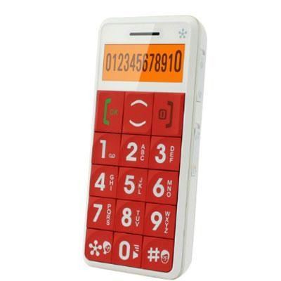 Just5 Cell Phone Red