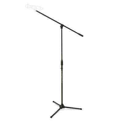 Mic Stand With Boom Pkg, Blk