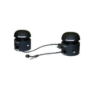 Mini-rocker Speakers Black