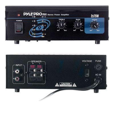 Mini 2x75W Stereo Power Amp