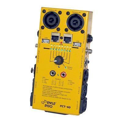 12 Plug Pro Audio Cable Tester